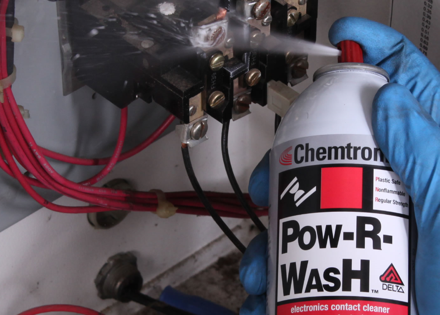 Pow-R-Wash Electronics Contact Cleaner