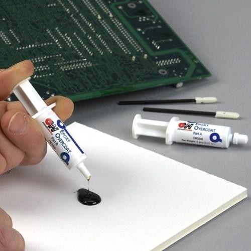 circuitworks epoxy overcoat (adhesive syringe) chemtronicsepoxy overcoat circuitworks epoxy overcoat (adhesive syringe) 2