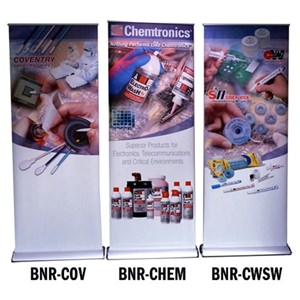 Chemtronics Banner Stands