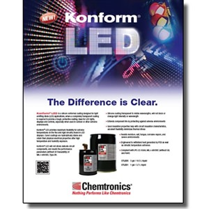 Konform LED flyer - 50/pk