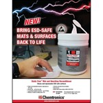 Picture of ESD Mat Reconditioner Wipes flyer - 25/pk