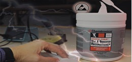 Try Our New Static Free Mat & Benchtop Reconditioner Wipes