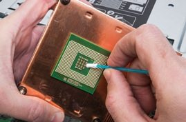 Picture of ESD Safe Swabs Prevent Shocking PCB Failures